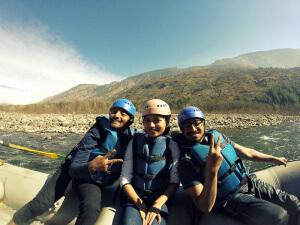 Rafting Family