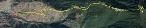 Nag-tibba-trek-map
