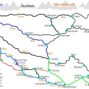 sandakphu map